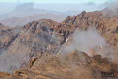 Descending Toubkal (morbidtibor) Tags: africa northafrica morocco desert atlas atlasmountains toubkal trekking hiking summit