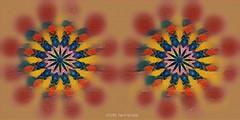 Summer Flowers (Rollingstone1) Tags: fractal flowers vivid art artwork colour blur colourful composite summer artdigital