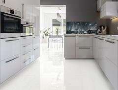 Make your kitchen look its best (ArchVendas) Tags: kitchen kitchencounter white grey light window modern house style stylish spacious creative decoration design decor idea interior indoors lifestyle poland