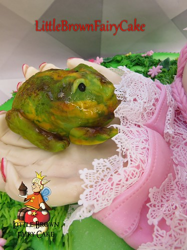 a close frog p