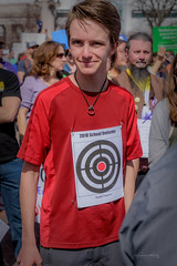 042 march for our lives-38 (mychannelmj) Tags: d7200 mychannelmj nikon tamron dslr digital dx noflash flashoff louisville colorado outdoor natural sunlight daytime bokeh fun youth cool people group crowd marchforourlives denver 2018 enough protest