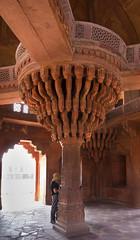 Diwan-i-Khas (Mike Legend) Tags: india uttar fatehpur sikri pradesh brackets serpentine red diwan khas