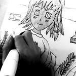 "cours dessin de manga Nantes sourire <a style=""margin-left:10px; font-size:0.8em;"" href=""http://www.flickr.com/photos/122771498@N03/39550630120/"" target=""_blank"">@flickr</a>"