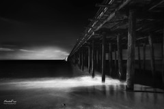 Pier (NormFox) Tags: art bw bnw beach blackandwhite blackandwhiteartistry california coast longexposure monochrome mood ocean pier sea sky water waves seascape aptos unitedstates us