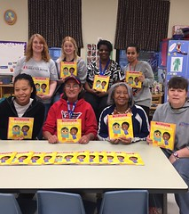 JLGA purchased a copies of this book for each classroom at Riverbend Head Start. The book discusses important women is history and was purchased in honor of Women's History Month in March.