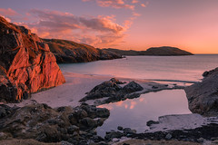 Utopia (Andrew G Robertson) Tags: achmelvich beach bay assynt scotland sunset sunrise highlands north coast 500 seascape