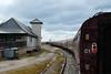 The nonchalant seagull (ho_hokus) Tags: 2018 escocia fujix20 fujifilmx20 heritagerailway mallaig schottland scotland scozia thejacobite unitedkingdom heritagelocomotive railcar railroad railway station écosse seagull train steam
