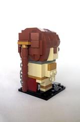 Slave Leia (tomvanhaelen) Tags: lego starwars leia slave custom brickheadz moc returnofthejedi