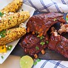 BBQ pork ribs, sweet corn and Rugeronis Lime, Chilli and Garlic relish- fantastic for the weekend #relish #lime #porkribs #bbq #ribs #rugeronis #asado www.rugeronis.com (Rugeronis - Simply Amazing Flavours) Tags: rugeronis bbq asado meat recipes food relish pasta argentina parrilla grill