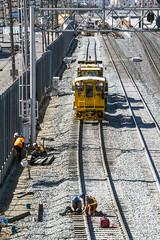 Railway work (jer1961) Tags: toronto railway construction railwaywork railwayconstruction canadianpacific uptrain