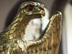 Eagle lectern (badger_beard) Tags: st saint mary virgin church linton cambridgeshire cambs cambridge haverhill south