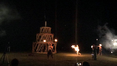 20170722 - Birthday Burn - the actual burn - 1 - fire spinners - 20229007_10104100923717869_51895550
