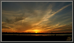 A litte atmosphere (WanaM3) Tags: wanam3 sony a700 sonya700 texas houston elfrancoleepark park outdoors vista cloudscape clouds dusk twilight sky reflection wetlands sunset