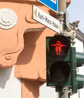 Karl Marx house Red Light, Trier, Germany