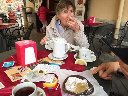 mum in Sicily
