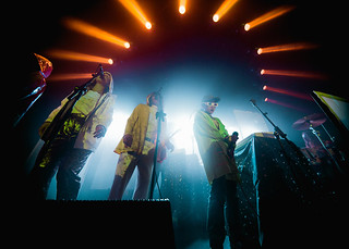 Superorganism live, Photography by Kirby Galdstein