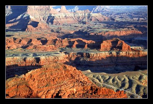 Red Rock Colors of Utah's Canyonlands - 1989