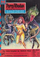 Perry Rhodan #543 (micky the pixel) Tags: groschenroman pulp heft sciencefiction sf scifi pabelmoewigverlag johnnybruck perryrhodan ernstvlcek dasletzteaufgebotdermarcopolo astronaut aliens schlange serpent
