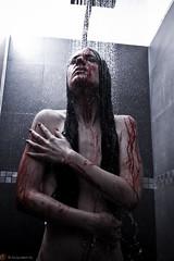 IMG_3274 (m.acqualeni) Tags: manu manuel acqualeni fetish sm daro light femme fille women girl pretty sexy nu nude nudité sang blood douche shower eau water portrait glamour