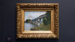 Monet, The Railroad Bridge in Argenteuil