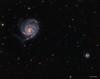 M101 - The Pinwheel Galaxy (DocRX) Tags: astronomy astrophysics astrophotography astrofotografia universe universo galaxy galassia nebula nebulosity nebulosa cielo notte stella stelle stars night sky cosmos cosmic telescope telescopio takahashi fsq106ed mach1gto lodestar qsi astrodon m101 messier101 messier 101