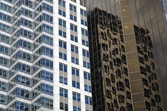 Vero-Barfoot & Thompson (syf22) Tags: newzealand auckland cityscape cityscene streetscene citycentre citystreet cityskyline skyscraper tower office commercial accommodation highrise buildings multistory skyline reflection glass windows openings pattern design cladding architecture cityarchitecture city modern modernarchitecture new old