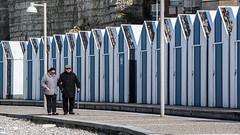 Yport, strandcabines (d_smets) Tags: normandi yport 2018 normandië april