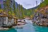 Marble Canyon (Daniel.Peter) Tags: bc britishcolumbia canada fluss kanada kootenay kootenaynationalpark marblecanyon nationalpark schlucht wasser canyon dpe3x river water