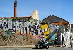 Olhão 2017 - Graffito de Sen 04 (Markus Lüske) Tags: portugal algarve ria riaformosa olhao olhão graffiti graffito kunst art arte wandmalerei mural muralha street streetart urban urbanart lüske lueske