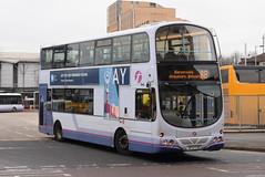 FG 37172 @ Glasgow Buchanan Street bus station (ianjpoole) Tags: first glasgow volvo b9tl wright eclipse gemini sf07fdc 37172 buchanan street bus station