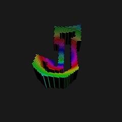 Stadium Typo - GeneTypo 099 (spaghetticoder77) Tags: spaghetticoder77 genetypo generative typography typeface proce55ing processing 3d random walker agent blocks hue hsb oscillation colorful pressure stadium