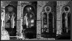 villers3 (BrigitteChanson) Tags: villerslaville abbaye brabant wallonie ruines ogives perspective pierres