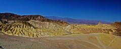 Zabriskie Point, Death Valley, California (JRR) Tags: deathvalley deathvalleynationalpark california desert nationalpark zabriskiepoint