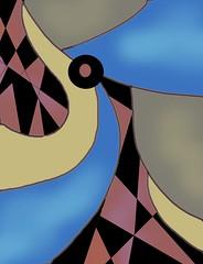 untitled (ladybumblebee) Tags: linesandcurves digitalart abstractart digitalabstract neutrals art originalart