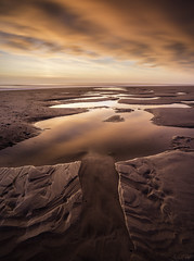 Whitley Bay Beach (Adam W2017) Tags: whitley bay seascape tide sunrise sand landscape coast north east