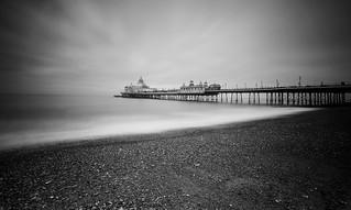 Eastbourne Pier B+W