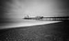 Eastbourne Pier B+W (ttrendell) Tags: eastbourne pier canon 5dmk2 1635mm landscape long exposure lee filter neutral density england south coast seascape beachscape clouds bw bulb big stopper gradient