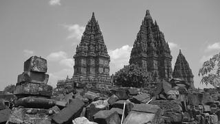 INDONESIEN, Java, hinduistische Tempelanlage Prambanan, 17358/9903
