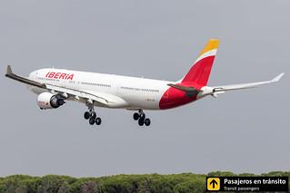Airbus A330 Iberia El Salvador EC-LXK