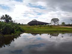 Reflections - the space ship (Jose Haroldo Sena) Tags: reflection reflexos parquedoutinga utinga belem pará para brasil brazil brazilianindian