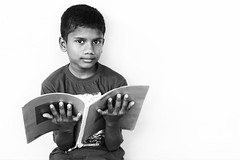 Indian School Boy Reading the Book (Nithi clicks) Tags: adorable beautiful book books boy child reading india teenager indianethnicity picturebook student adolescence outdoors ruralscene smiling studying education learning males oneperson schoolboy campbed concentration elementaryage happiness haryana holding horizontal humanbodypart humanhand imagefocustechnique lifestyles people photography portrait schoolchildren selectivefocus small teenageboys