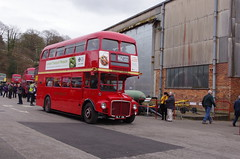 IMGP9031 (Steve Guess) Tags: brooklands weybridge surrey england gb uk bus cobham rally lbpt london museum routemaster prototype rm1 slt56 aec
