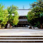 Buddha hall of Engakuji Temple, Kamakura : 北鎌倉・円覚寺仏殿 thumbnail