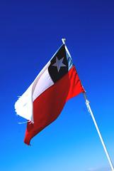 Chi-chi-chi le-le-le (Anselmo Portes) Tags: flag chileanflag chile blue bluesky minimal minimalism minimalista minimalismo minimalist bandeira bandeiradochile azul céu céuazul