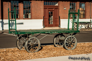 Laramie Wyoming Railroad Depot