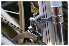 Campagnolo Mk1 Front Derailleur. (Paris-Roubaix) Tags: campagnolo 1st generation front changer derailleur vintage bicycle components italian cycling parts cambio