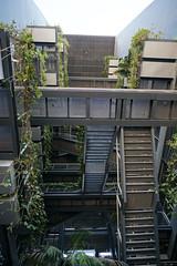 2018-04-FL-183655 (acme london) Tags: barcelona bridges corridor fira hotel jeannouvel landscape renaissancehotelfira spain staircase