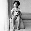 (Dani Irwan) Tags: 120 mediumformat 6x6 squareformat ilfordhp5 ei400 analog bw blackandwhite blancoynegro film malaysia monochrome noiretblanc darkroom8 mamiyac220 mamiya80mmf28 canoncanoscan8800f portrait toddler boy swimsuit toes sleepy closedeyes pose