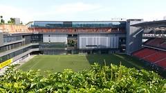 Our Tampines Hub Stadium, Singapore (SunnyGo) Tags: singapore our tampines hub stadium football ourtampineshub facilities building green