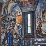 San Francisco  - California  - Coit Tower - Murals Inside thumbnail